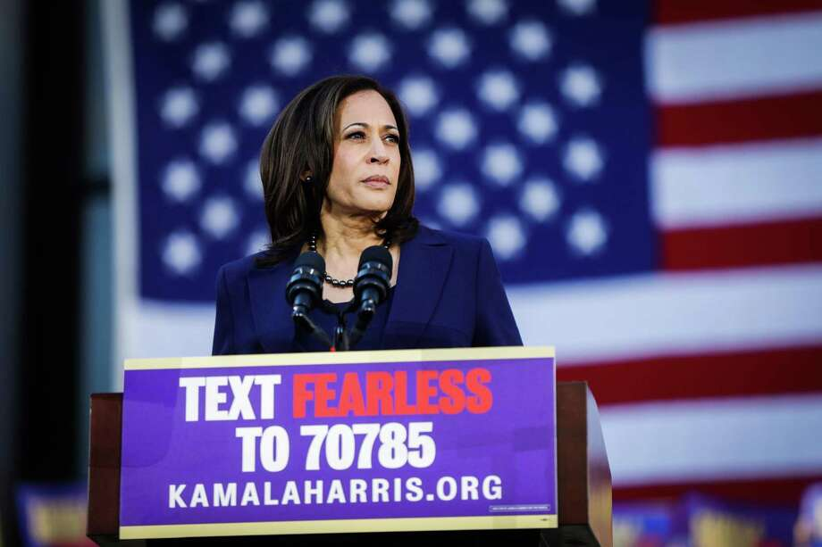 "What did the framers really mean by ""natural- born citizen""? The answer could determine if Sen. Kamala Harris is eligible to be president. Photo: Gabrielle Lurie / San Francisco Chronicle / ONLINE_YES"