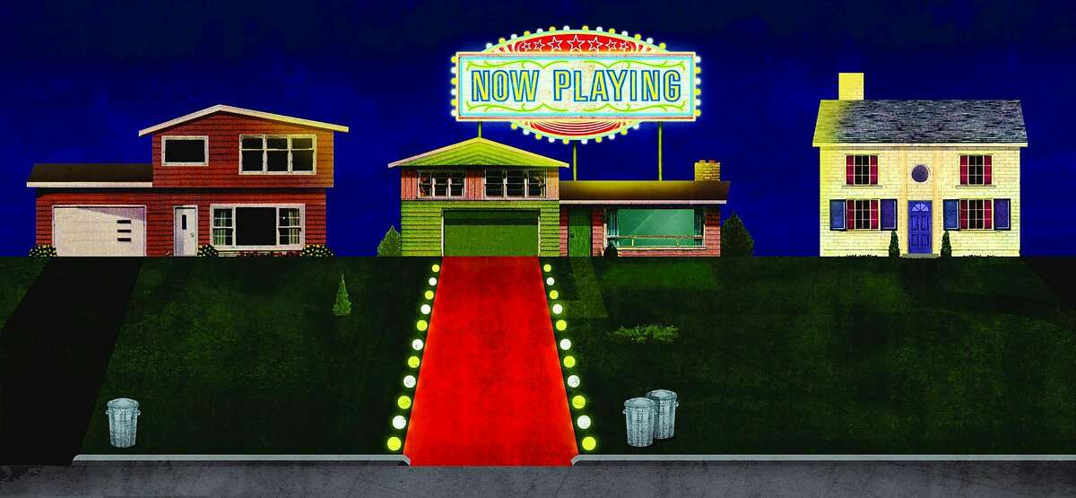 Red Carpet Home Cinema offers Hollywood's latest movies, but it's not cheap for customers to rent films still in the theaters. (Christian Northeast/The New York Times) -- NO SALES; FOR EDITORIAL USE ONLY WITH NYT STORY LUXURY MOVIE RENTALS BY BROOKS BARNES FOR APRIL 8, 2019. ALL OTHER USE PROHIBITED. --