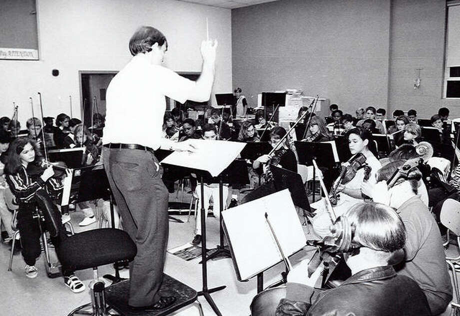Larry Crabbs was a co-founder and the Alton Youth Symphony's first director from 1970 to 1977. He later directed again from 1992 to 1996 and still remains involved as a board member.