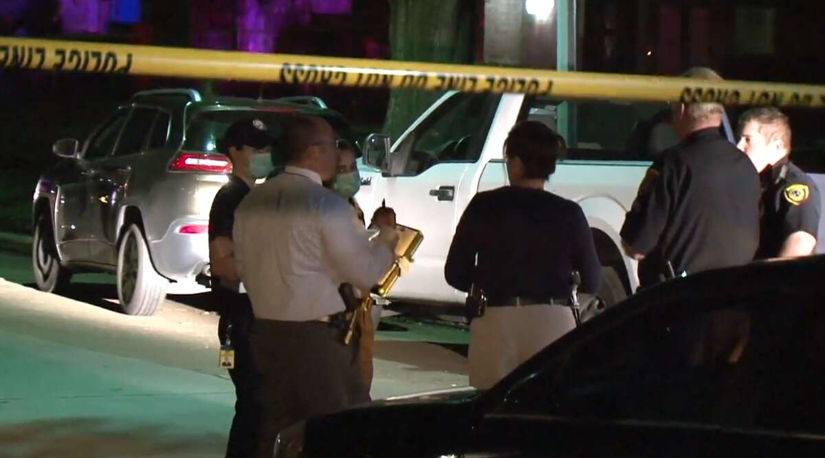 A man died Monday after he was found shot in a Jeep Cherokee in west Houston, according to police. Police believe his injuries could be related to a disturbance at an area convenience store.