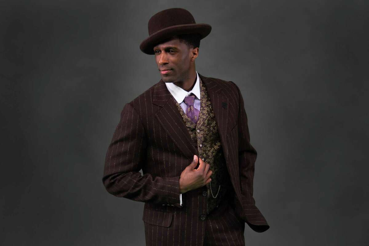 """Ezekiel Andrew as """"Coalhouse Walker, Jr. in the Theatre Under The Stars premiere of Ragtime, April 16 through 28 at the Hobby Center."""