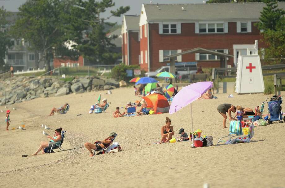 The cost to park at Milford beaches this season is going from $15 to $20 for non-residents. Photo: Brian A. Pounds / Hearst Connecticut Media / Connecticut Post