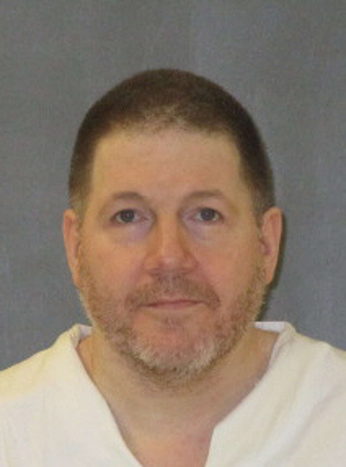 Death row inmate Mark Robertson is show here in his most recent prison photo.