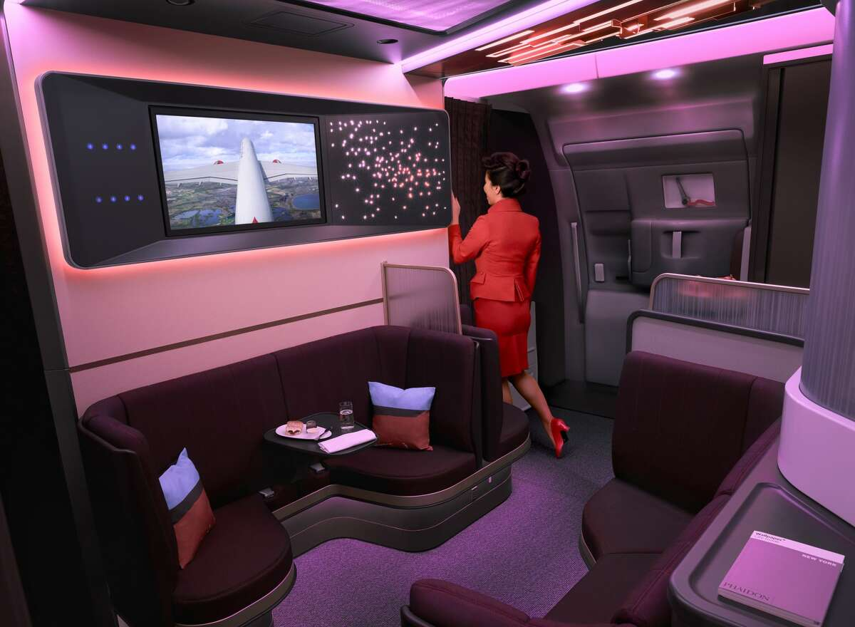Virgin Atlantic replaced its cheeky onbord bar with a new