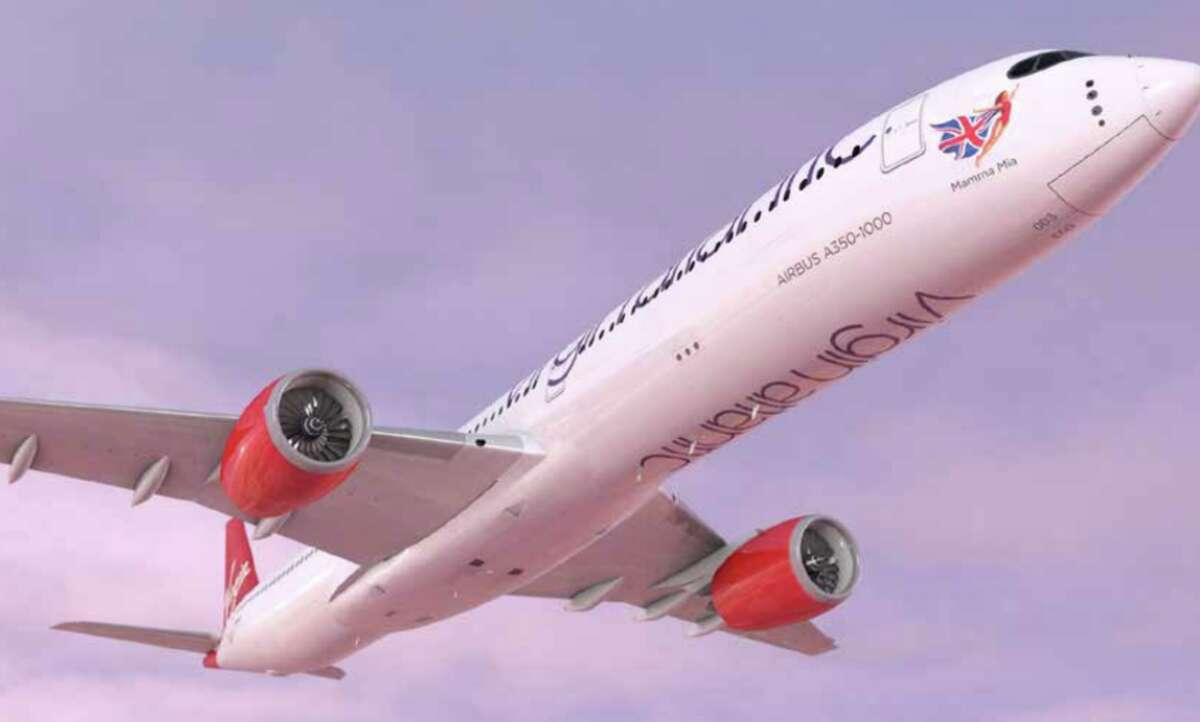 Virgin Atlantic's new Airbus A350-1000 will first fly between London, New York and Atlanta. The airline has 12 on order.