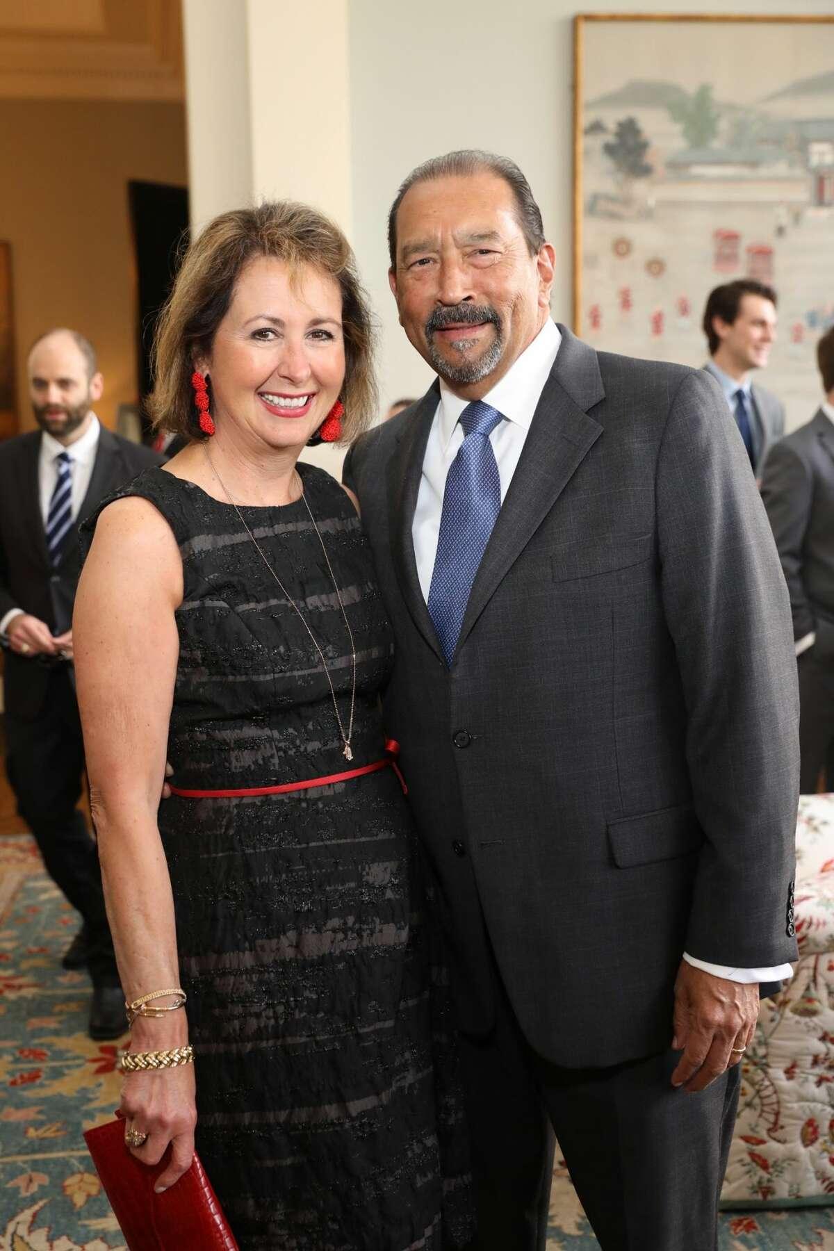 Ileana and Michael Trevino