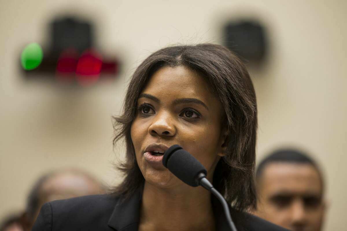 Candace Owens of Turning Point USA testifies during a House Judiciary Committee hearing discussing hate crimes and the rise of white nationalism on Capitol Hill on April 9, 2019 in Washington, DC.
