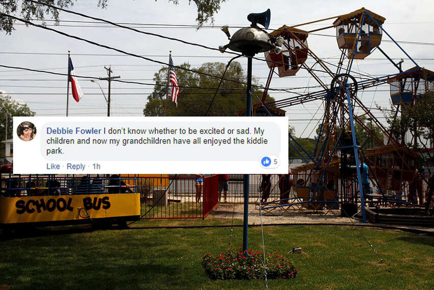 Locals react to news of the Kiddie Park moving to the San Antonio Zoo this summer after nearly 100 years at its original location at 3015 Broadway St.