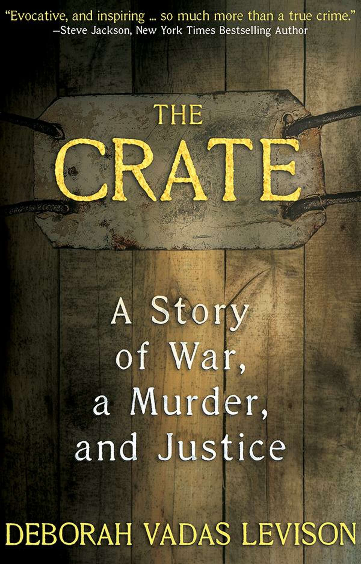 The cover of Deborah Levison's latest book, 'The Crate.'