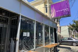 Blowfish Sushi at 2170 Bryant St. in San Francisco's Mission District closed in April 2019.