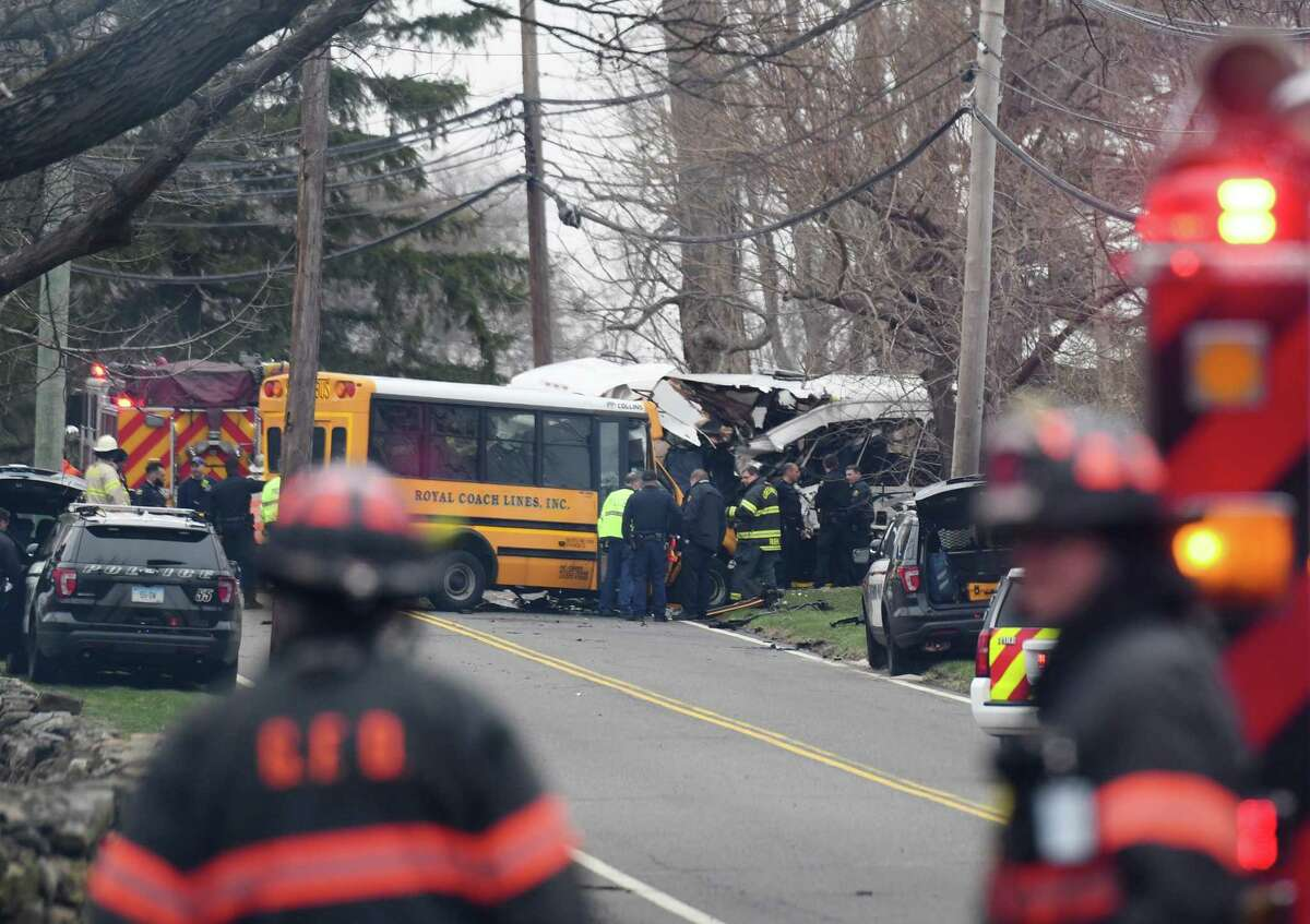 The response time to a serious bus collision on upper King Street in April was over seven minutes.