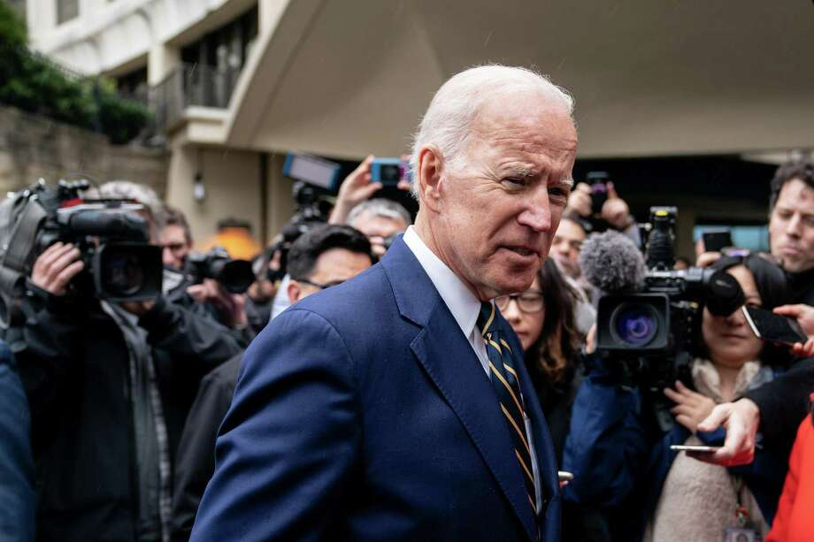 While Joe Biden might be extended the benefit of the doubt about his alleged inappropriate touching, his defenders cannot be. Their defense reeks of hypocrisy. Photo: ERIN SCHAFF /NYT / NYTNS
