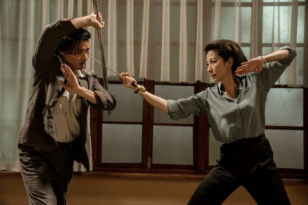 Max Zhang and Michelle Yeoh in 'Master Z: Ip Man Legacy'
