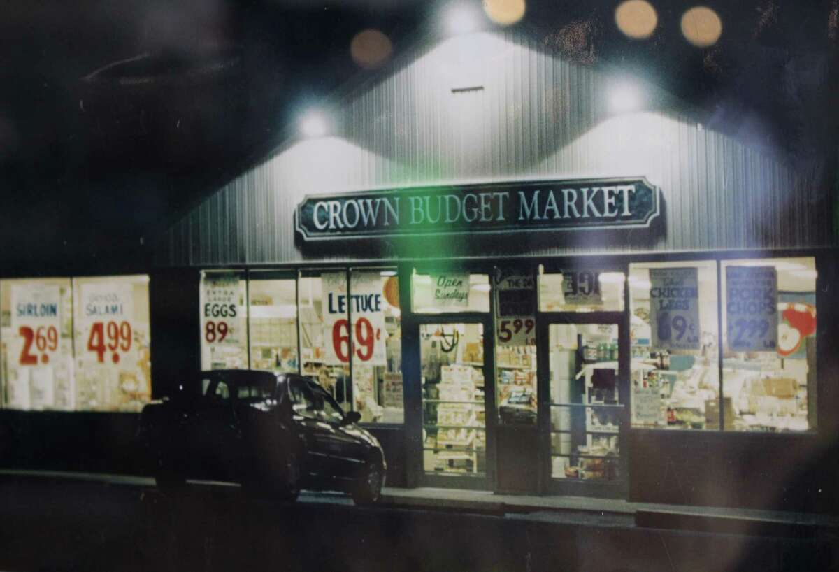 A photo of the former Crown Budget Market at 2200 Madison Ave. in Bridgeport.