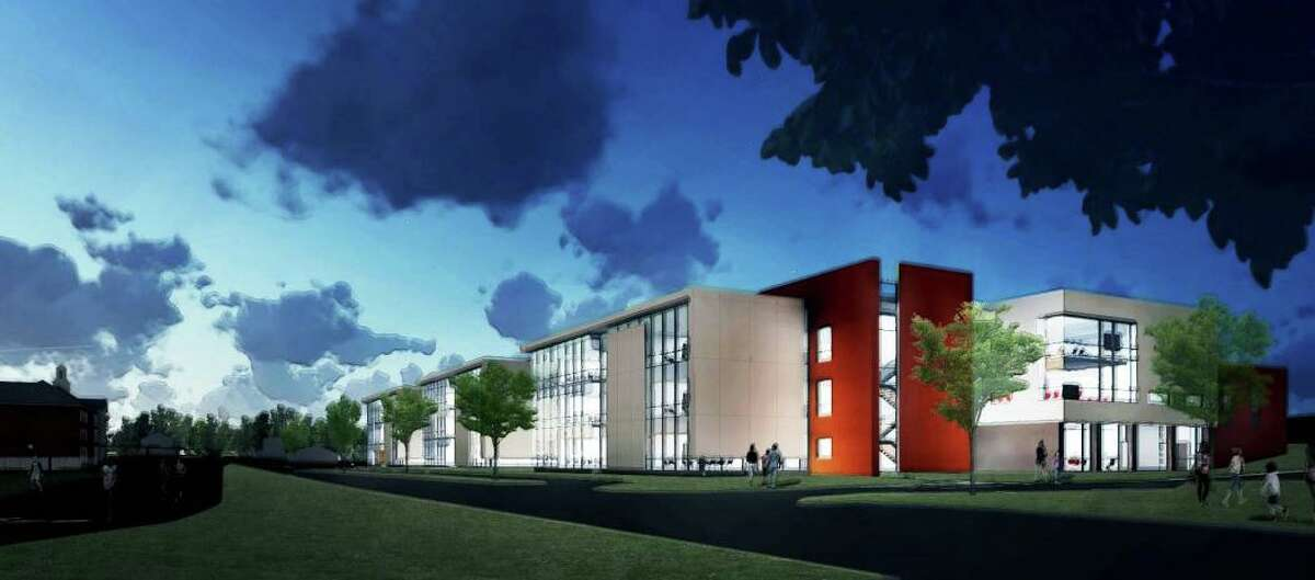 Architect renderings for Middletown's Woodrow Wilson Middle School project
