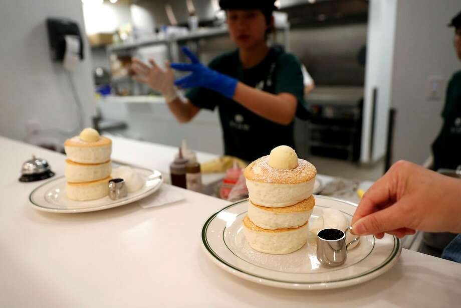 Gram Cafe & Pancakes, the Japanese chain's first U.S. restaurant, is creating a sensation at Stonestown Galleria. Photo: Scott Strazzante / The Chronicle