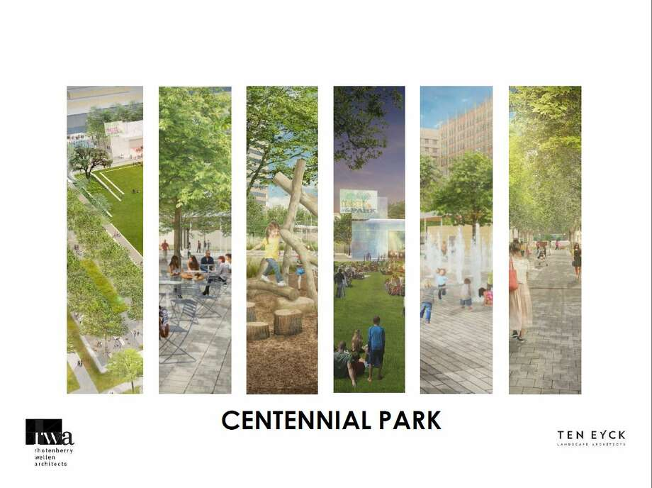 Centennial Park Renderings Photo: Courtesy Photo