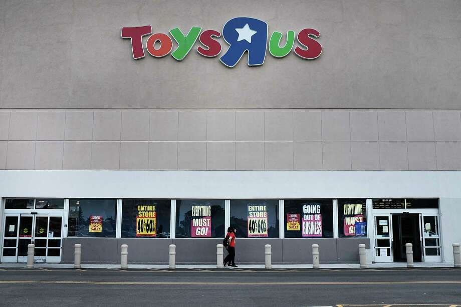 NEW YORK, NY - JUNE 08: A Toys R Us store stands in Brooklyn on June 8, 2018 in New York City. All 735 Toys R Us stores in America are set to close by the end of June leaving  33,000 workers  without a job or  severance pay. Many of the employees losing their jobs have worked for the company for decades. Toys R Us has been owned by the private-equity giant Bain Capital. (Photo by Spencer Platt/Getty Images) Photo: Spencer Platt / 2018 Getty Images