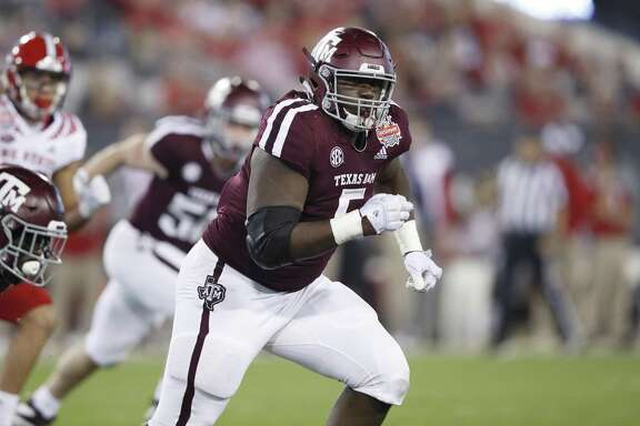 If Bobby Brown III has his way next fall, the defensive tackle will be doing less running as a sophomore because Texas A&M's staff appears more likely to use him on the interior than at end.