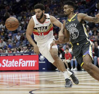 fbe15cc0a5b How Warriors  Jacob Evans made the most of his homecoming vs. Pelicans