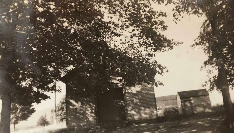 """The former Park Lane Schoolhouse in New Milford is shown above. It was located at the corner of Routes 202 and 109, near where United Savings Bank is situated. If you have a """"Way Back When"""" photograph you'd like to share, contact Deborah Rose at drose@newstimes.com or 860-355-7324. Photo: Courtesy Of Bette Lou Emmons / The News-Times Contributed"""