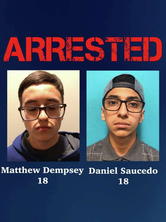 Daniel Saucedo, 18, now faces a charge of capital murder in the death of Mary Dempsey. Dempsey's son, Matthew, was arrested Tuesday in connection to her death. Photo: San Antonio Police Department