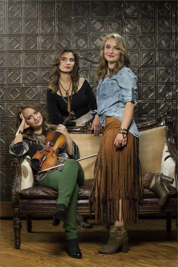 The Quebe Sisters play progressive Western swing, with a bit of the Mills Brothers sound thrown in. Photo: Michael J. Media / Contributed Photo / Stewart Cohen Pictures