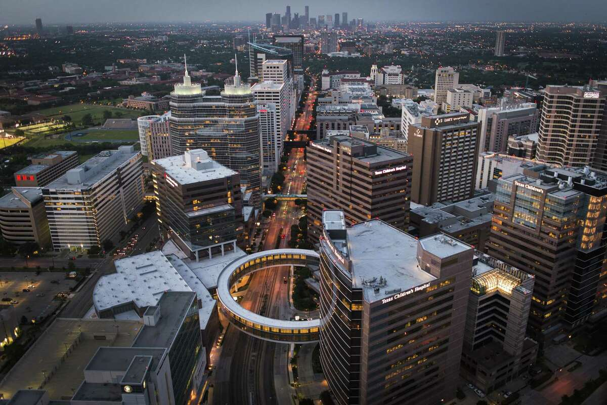 The Texas Medical Center is among the world's largest medical complexes.