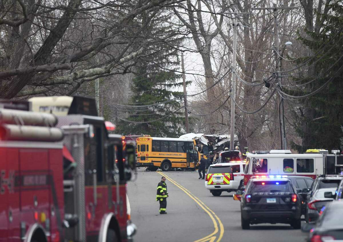 Fire response time to a serious bus collision on upper King Street in April was over seven minutes.