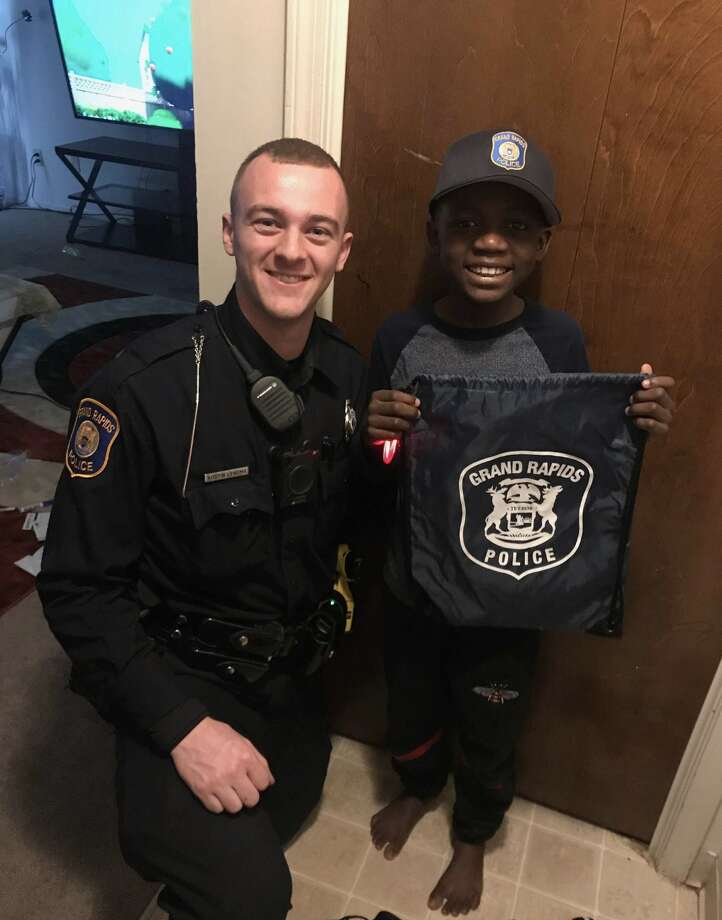 Police Officer Throws 9 Year Old Boy Surprise Birthday Party After No One Showed Up To His