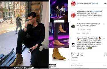 Preachers with Sneakers Instagram account features celeb