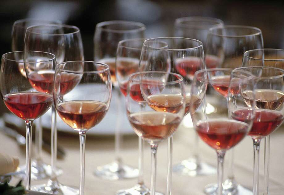 A selection of Rose' wines. Ron Saikowski advises to 'think pink' as in Rose' for spring sipping. Photo: Jan Caudron, Contributor / Getty Images / &#169 Jan Caudron/Anaklasis