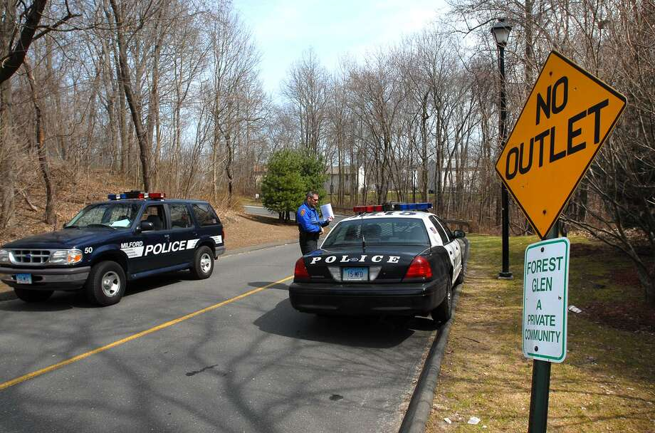 Milford police on the job. Photo: /