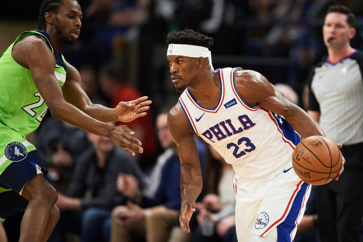 PHILADELPHIA 76ERS Jimmy Butler, guard Tomball High School Butler will be leaned on to get big buckets in crunch time. He averaged 18.7 points and 4 assists per game in the regular season.