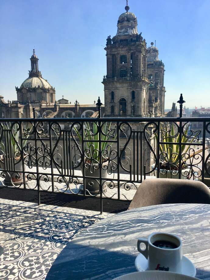 Brunch is better with a view, which you'll find at El Balcon del Zocalo. Photo: Greg Keraghosian