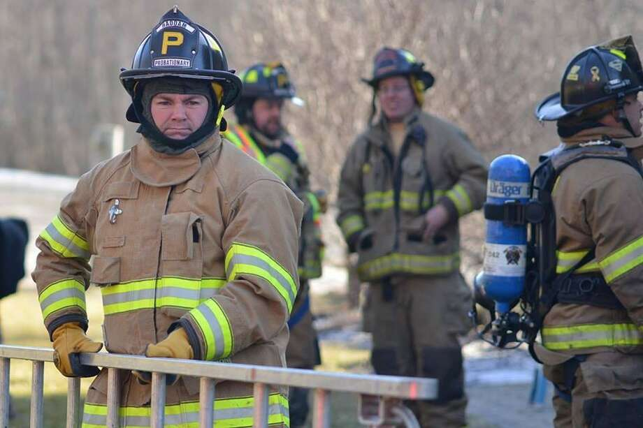 Haddam Volunteer Fire Company responded to a total of 90 calls for emergency services in January and February. Photo: Olivia Drake Photo