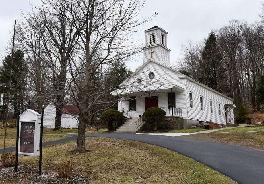 Exterior of the Zion's United Church of Christ on Wednesday, April 10, 2019, on Taborton Road in Sand Lake, N.Y.  (Will Waldron/Times Union) Photo: Will Waldron, Albany Times Union / 20046659A