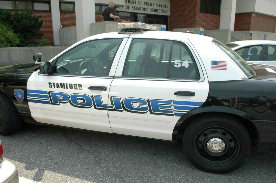 Stamford Police car at Headquarters at 805 Bedford Street in Stamford, Conn. on Wednesday June 8, 2011. Photo: File / Hearst Connecticut Media / Stamford Advocate