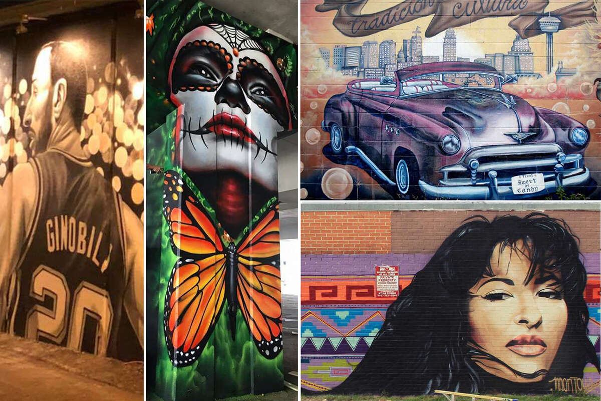 Take a tour of San Antonio's murals: