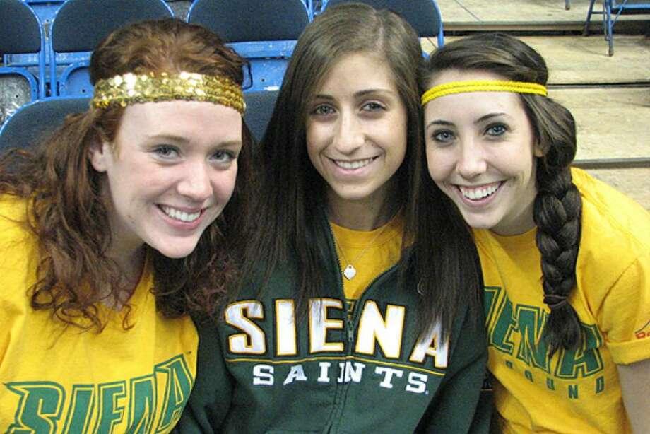 Were you seen at Siena vs. Loyola? Photo: Kristi Gustafson