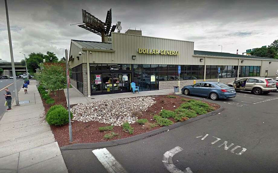 A Google Maps screenshot shows the Dollar General on Fairfield Avenue in Bridgeport, Conn. A 24-year-old man was stabbed at the store on Tuesday, April 9, 2019. Photo: Contributed Photo / Contributed Photo / Connecticut Post Contributed
