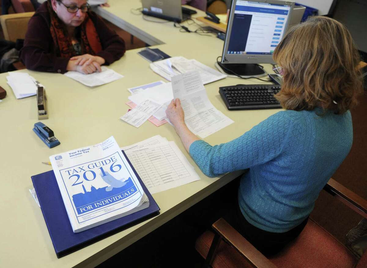 Need tax help? Free assistance is available in town on two more days. Volunteers will be helping residents from 9 a.m. to 2:30 p.m. Thursday in the Hayton Room in Town Hall, and from 9 a.m. to 1 p.m. Saturday at the main Greenwich Library.