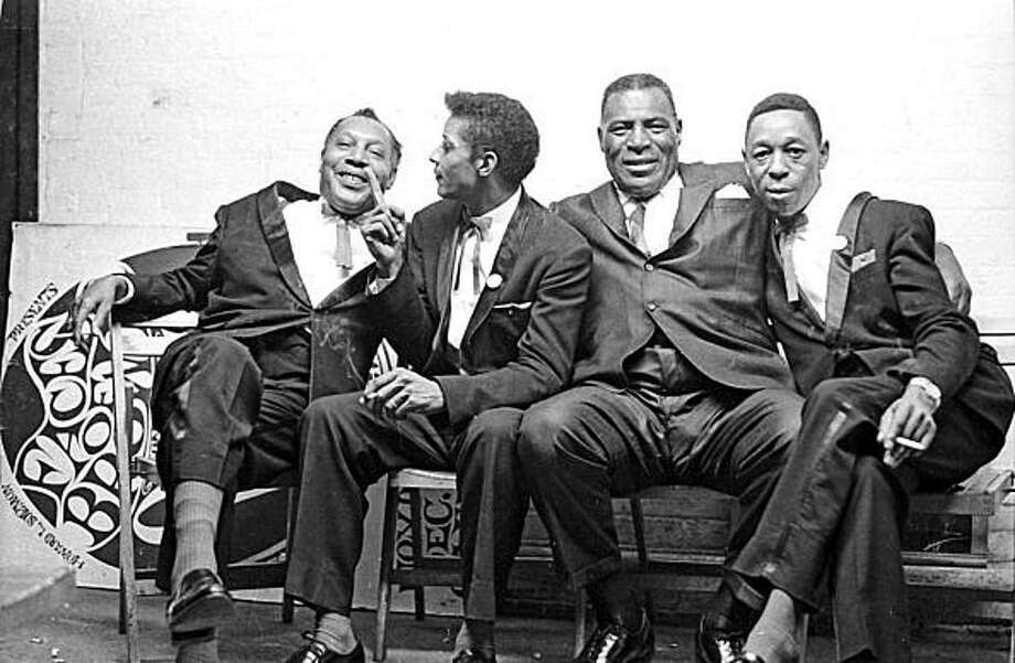 "Blues great Howlin' Wolf, second from right, is the subject of the short film ""The Howlin' Wolf Story."" Photo: Courtesy 14 Pews"