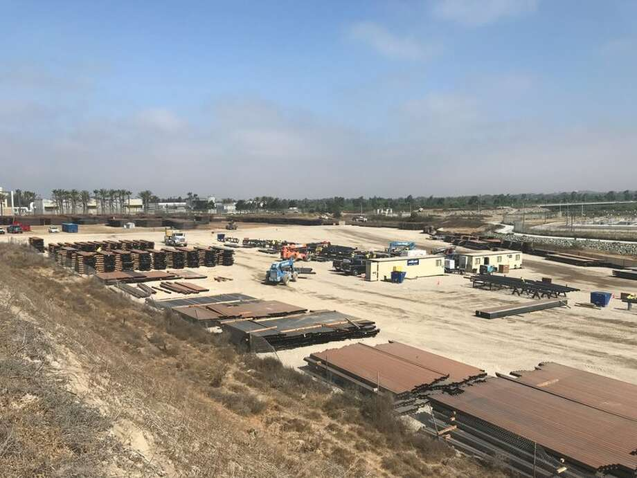 SLSCO, Ltd., a Galveston-based construction firm, was awarded a portion of a $1 billion contract to build a wall on the U.S.-Mexico border. Photo: SLSCO, Ltd.