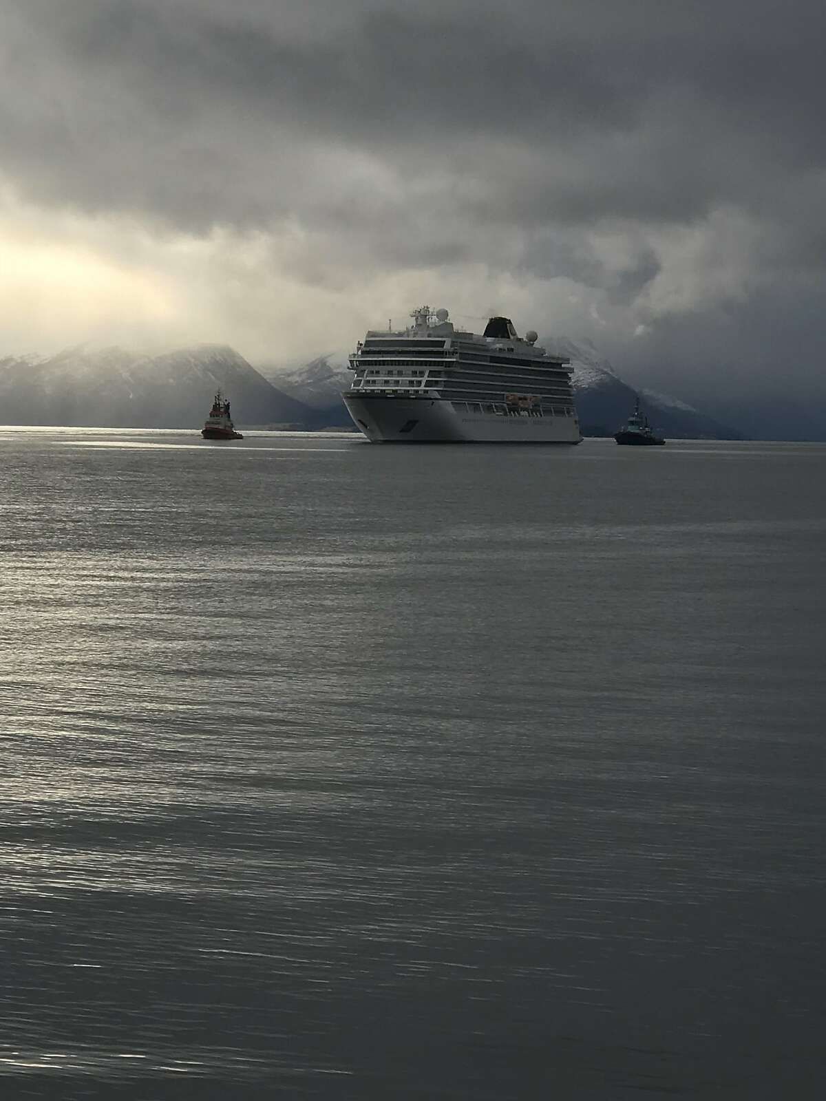 Dawn and Peter Schurman were aboard the Viking Sky cruise ship and had to be rescued by helicopter last month when a storm caused the engines to fail.