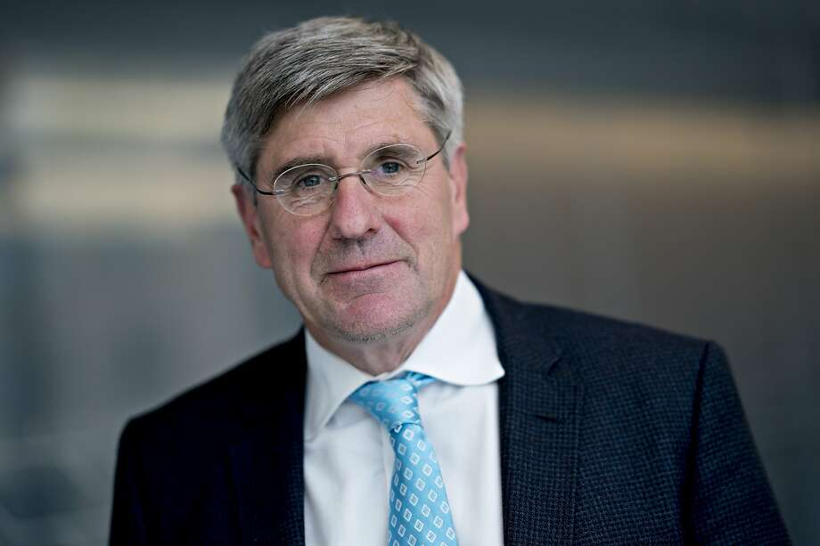 Stephen Moore, visiting fellow at the Heritage Foundation, stands for a photograph following a Bloomberg Television interview in Washington, D.C., U.S., on Friday, March 22, 2019. President Donald Trump said he's nominating Moore, a long-time supporter of the president, for a seat on the Federal Reserve Board. Photographer: Andrew Harrer/Bloomberg Photo: Andrew Harrer, Bloomberg
