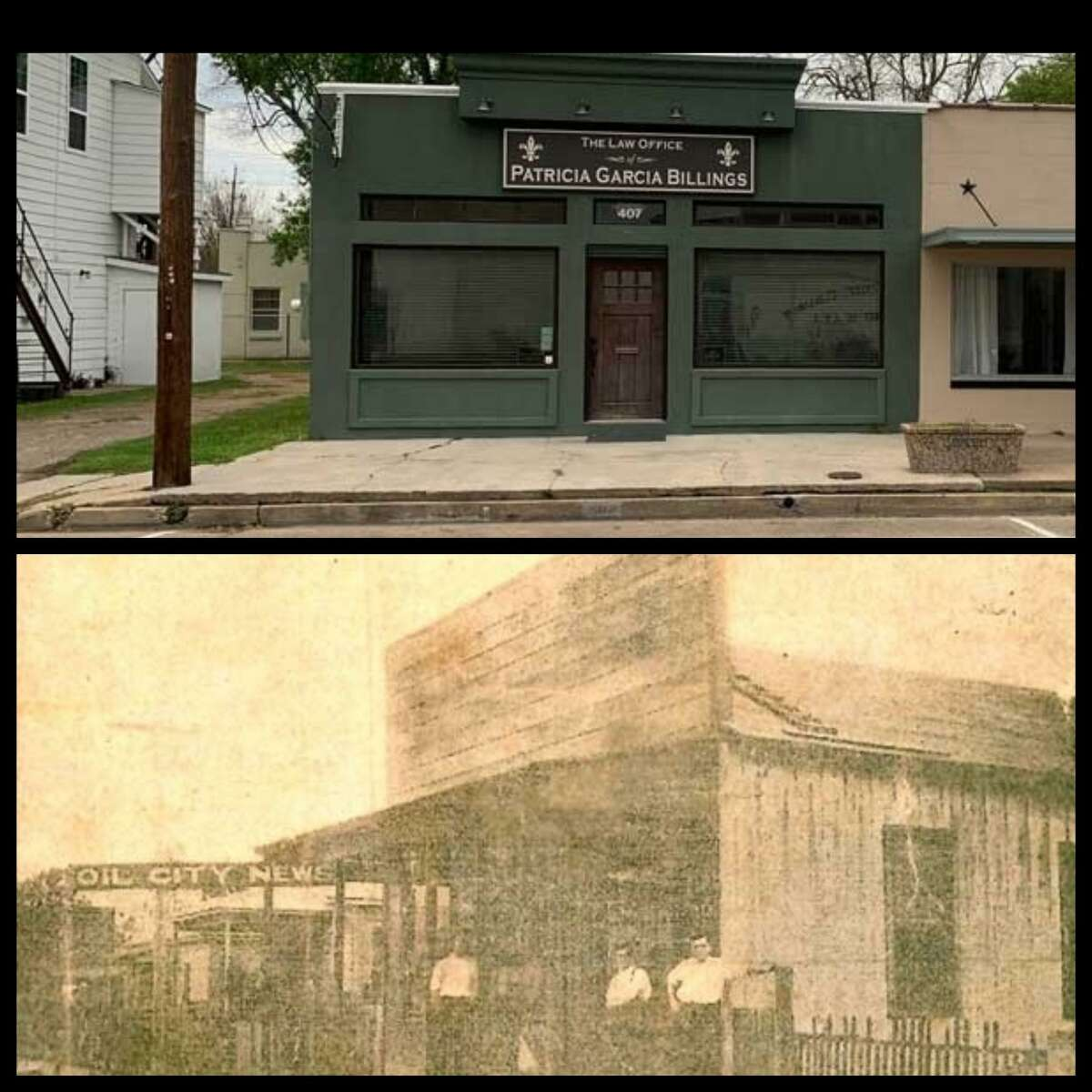 Oil City News, located on Main Street, was the official City of Humble newspaper back in the early 1900's.