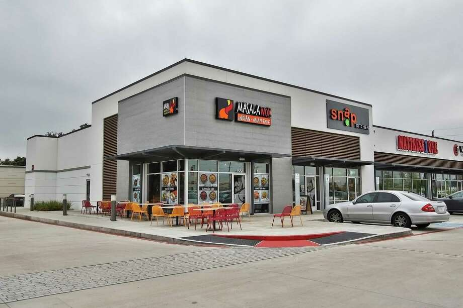 Katy Green IIis home to Verts Kebap, Snap Kitchen, Mattress One, Corner Bakery, Masala Wok, and Smile Clinique.An affiliate of Wile Interests has sold Katy Green II toCH Retail/Acquisitions. It is at the southwest corner of the Katy Freeyway and Greenhouse Road. Photo: Wile Interests