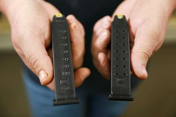 For one week, high-capacity ammunition magazines were legal