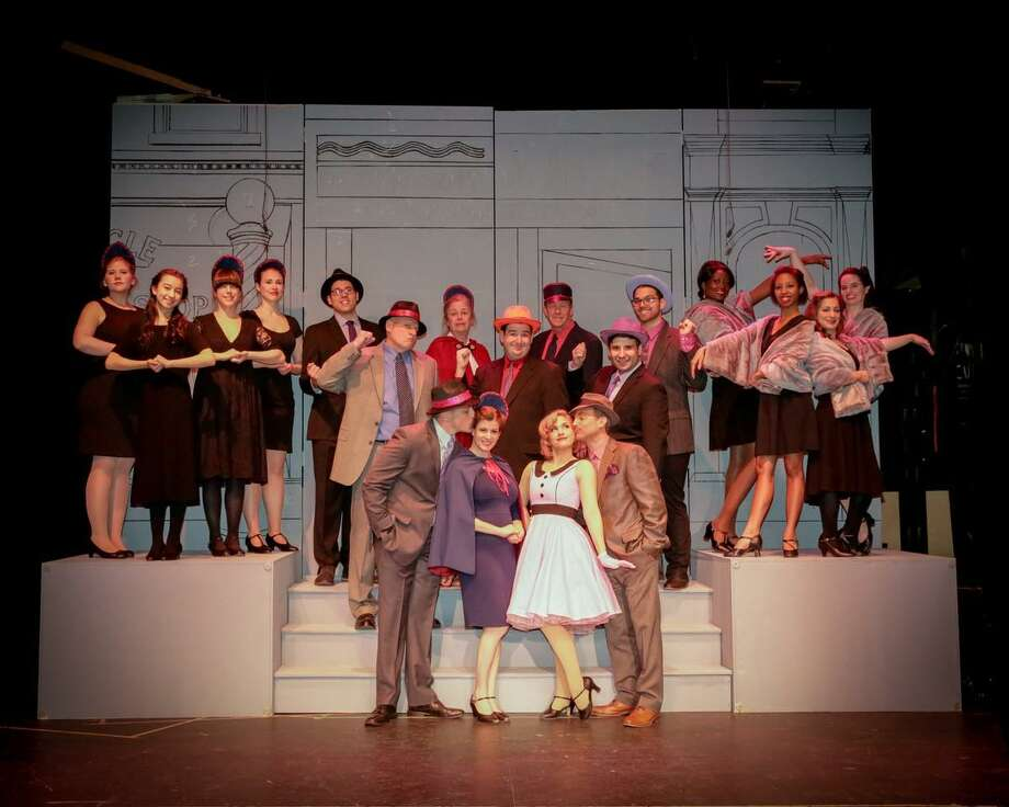 """The cast of """"Guys and Dolls"""" at The Wilton Playshop in Wilton April 26-May 11. Photo: The Wilton Playshop / Contributed Photos"""